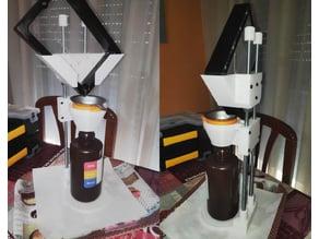 Resin Vat Drip Stack / Sistema de drenaje para resina
