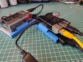 Raspberry PI X: Amored PI HDD Case