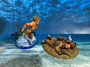 28mm Mermaid Miniature