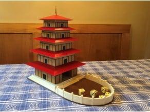 Pagoda Dice Tower