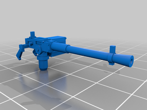 28mm scale machine gun