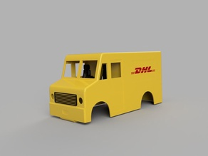 Delivery truck body for wltoy K989