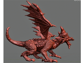 Dragon - Young Red Dragon