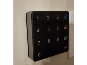 "iSmartAlarm Keypad ""Communication Error"" Fix (Plastic Back Plate)"