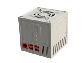 Retrocube Case for Raspberry Pi 3