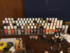 Model/Miniature Paint Organizer Tray (25mm & 33/35mm dia)