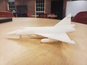 "Convair F-102 ""Delta Dagger"" Model Airplane - U.S. Air Force Interceptor"