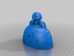 Menina 3D Printer Party 2020_100mm de Alto