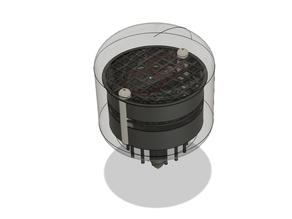 IN-4 Nixie Tube 3D model