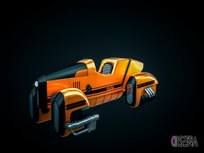 Dieselpunk Hover Car