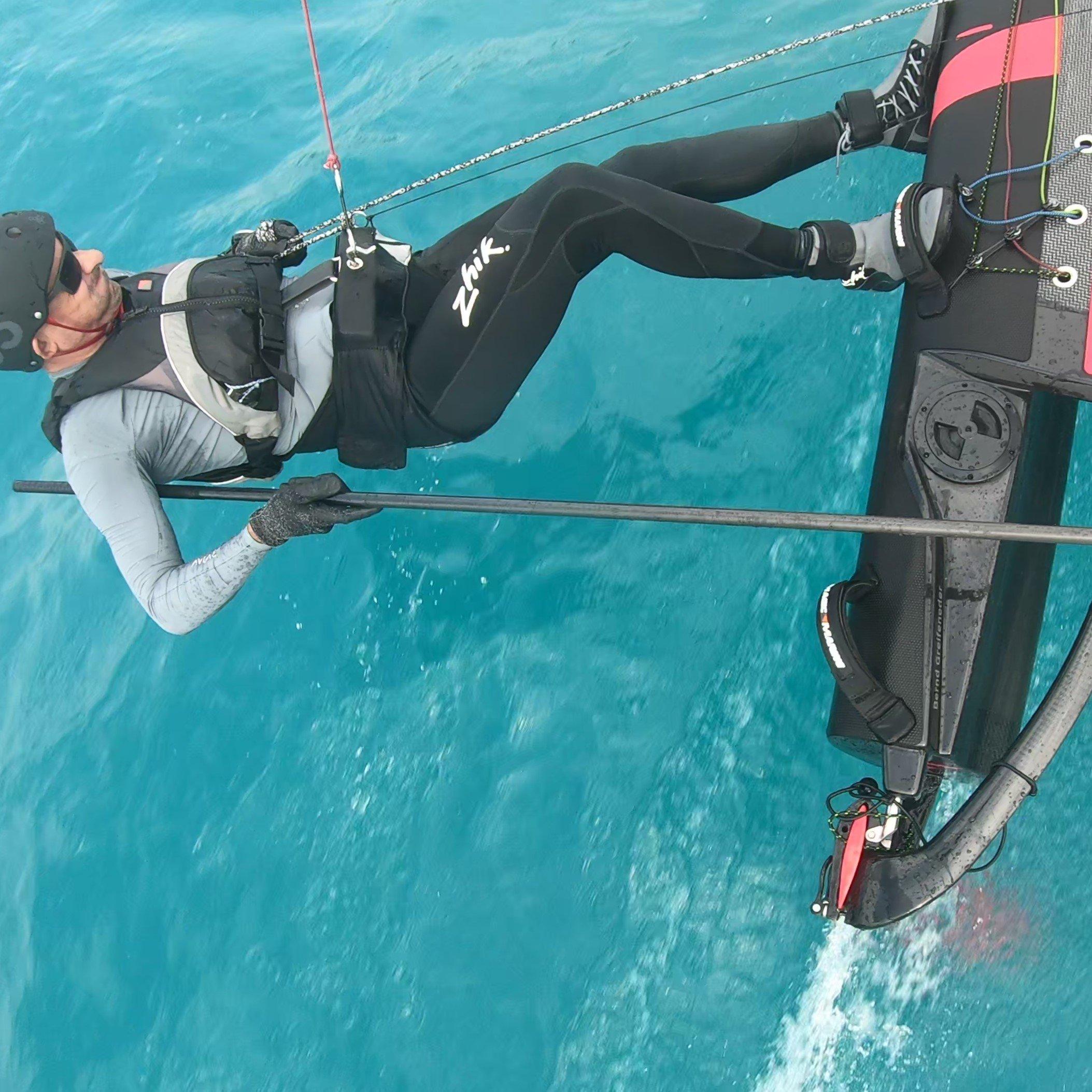 Sailmon MAX self-tacking mount for DNA F1x Foiling Catamaran