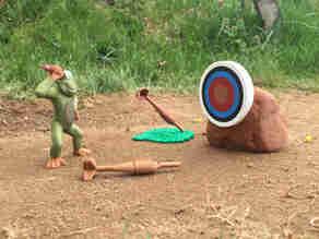 Monkeys Throwing Darts