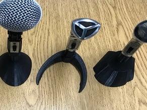 Microphone Display Mini-Stands