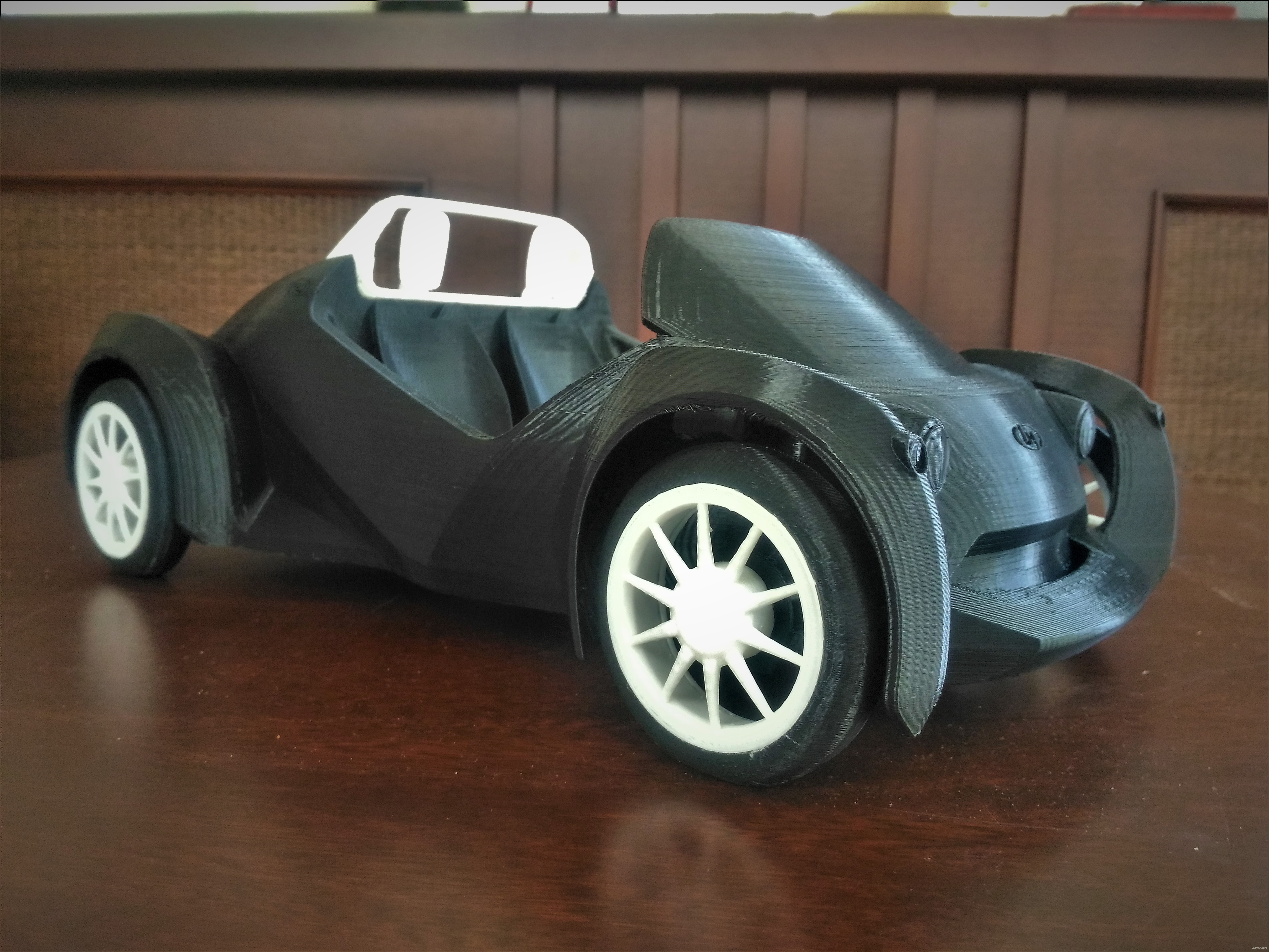 Local Motors Strati 3D Printed Car by LocalMotors - Thingiverse