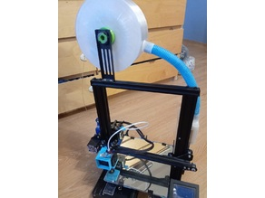 Filament spool dryer and dust protection