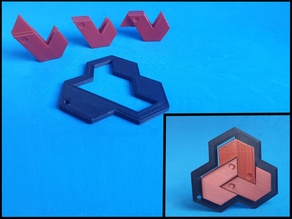 The shift & slide Hexagon Puzzle