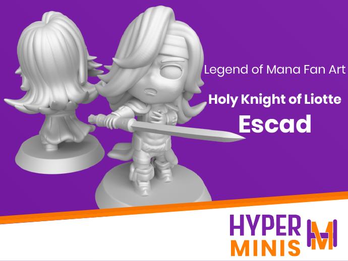 Escad | Legend of Mana (Seiken Densetsu)