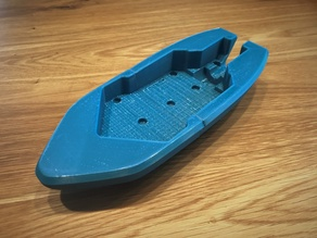 Wind-up Bathtub Boat V5 MOD - Hull in two peaces