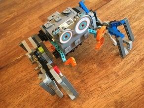 Mr Crab and 4x4 Ubtech Jimu Lego Technic