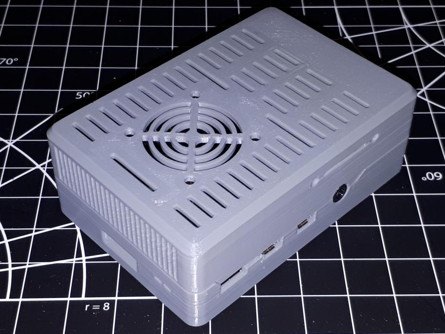 JAL- Raspberry Pi 4B case - 2020 mount, 30mm fan.