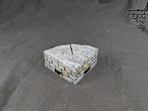 Dungeon Stone 2.0 2x Curved Risers