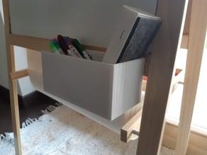 IKEA MALA white board Marker, Eraser Holder / Color pencil box