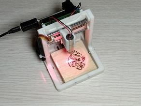 compact mini CNC Laser