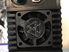 Fan cover (valknut)