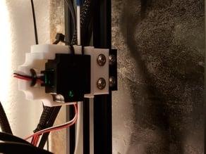 Ender 5 EZOUT holder Remix - Titan Extruder Spacer