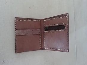 Laser cut wallet mk2
