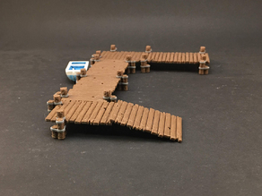 Boat Dock system for 28mm miniatures gaming