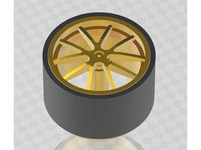 Breyton Wheels Model Rims (Tire - ungroup available)