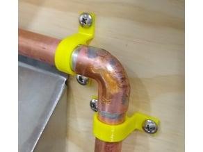 Copper Pipe Hanger Strap 1/2-inch