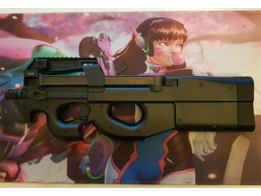 P90 Stock Extension - 4 and 7 cm