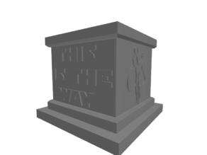 Mandalorian Plinth