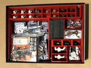 Imperial Assault - Return to Hoth organizer