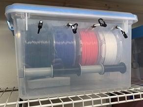 Sterilite 20qt Filament Dry Box v2