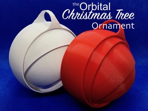 Orbital Christmas Tree Ornament