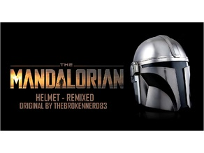 The Mandalorian Helmet UPDATED - REMIXED