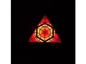 Geometric WiFi-Controlled RGB Light (Triangle Edition!)