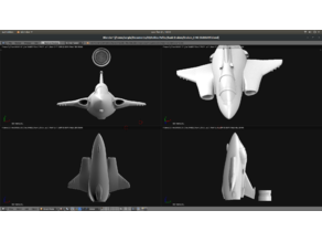 Toy plane - Saab Draken