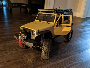 SCX10 II, Jeep JK, 313mm Group