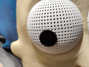 Eyes for Rick Sanchez mask from Rick and Morty