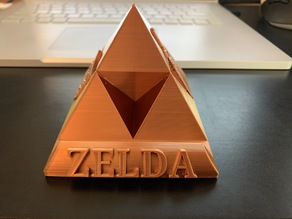 Zelda Triforce Phone Holder