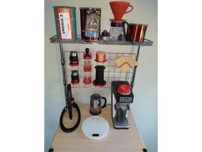 Baker's Rack Coffee Accessories