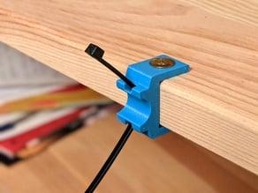 IKEA IVAR shelf cable holder