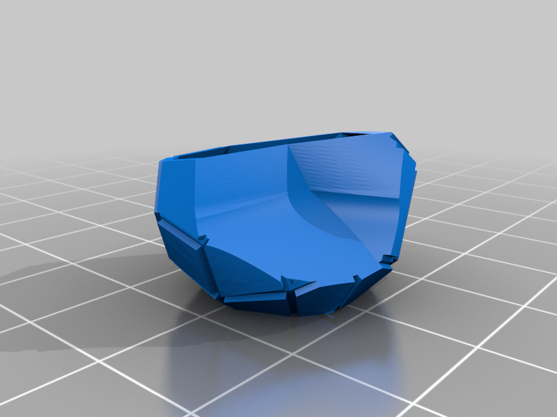Low poly beacon cup