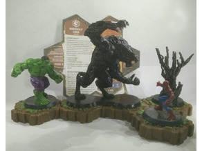 Werewolf Lord for Heroscape 77mm tall, better print position