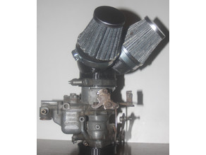 Carburettor Stack v2-3 for Weber 34 ICH.