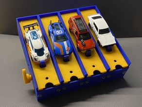The 1/64 Diecast Car n-Lanes  Starter Box